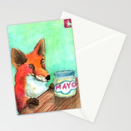 Mmmm.... Mayo. Stationery Cards