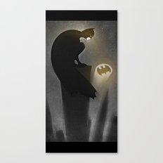 thebatsignal Canvas Print