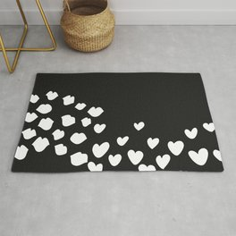 KisseS and HeartS Rug