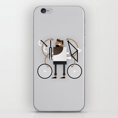 Back to Fixie Business iPhone & iPod Skin