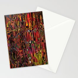 The Circus- Neon Abstract  Stationery Cards