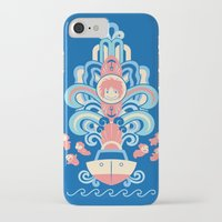 deco iPhone & iPod Cases featuring Ponyo Deco by Ashley Hay