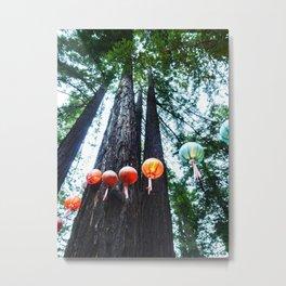 Lantern String Tall Metal Print