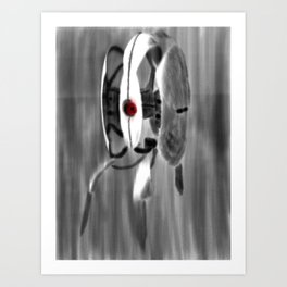 Is Someone There? Art Print