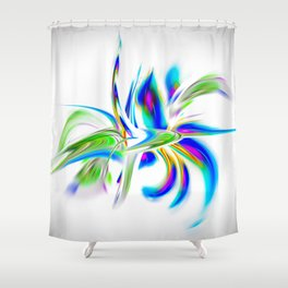 Abstract perfection - Flower Magical Shower Curtain