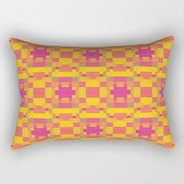 High Definition Modern African Quilt Rectangular Pillow