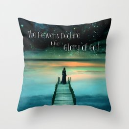 The Heavens Throw Pillow
