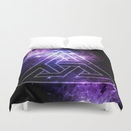 Triobelisk Triangle Duvet Cover