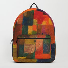 Paul Klee - Ohne Titel - No Title Backpack