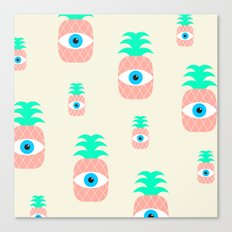 P[eye]NEAPPLES Canvas Print