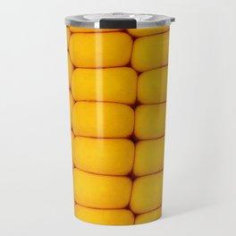Yellow corn pattern Travel Mug
