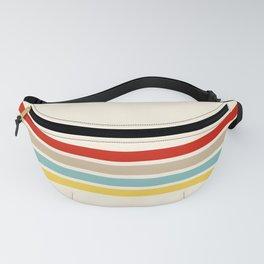 Brazilian Retro Stripes Fanny Pack