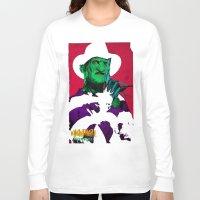 freddy krueger Long Sleeve T-shirts featuring KRUEGER by UNDEAD MISTER / MRCLV