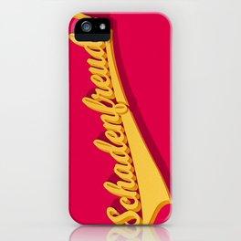 Schadenfreude! iPhone Case