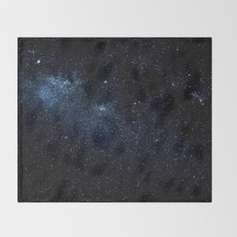Star and Galaxy Throw Blanket
