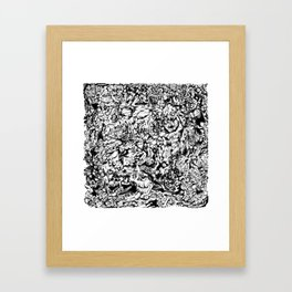 Mindless Rage Framed Art Print