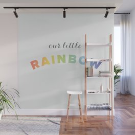 Our Little Rainbow Wall Mural