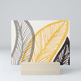 Friendly Flora II - Wide Neutral Bright Palette Mini Art Print
