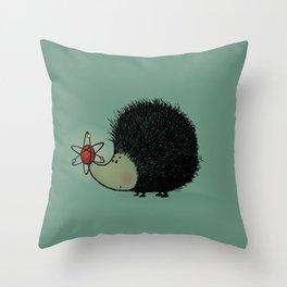 Atomic! Throw Pillow