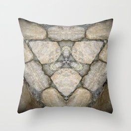 Cotswold Stone Triad Throw Pillow