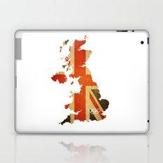 Union Jack Map - Olympics London 2012 Laptop & iPad Skin