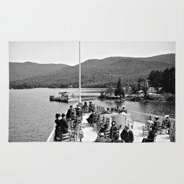 Vintage Lake George: Huletts Landing Rug