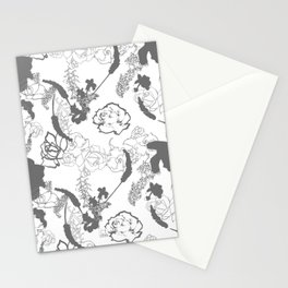 Grey Stationery Cards