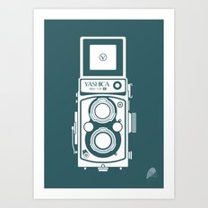 Yashica MAT 124G Camera Art Print