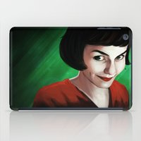 amelie iPad Cases featuring Amelie by Jon Cain