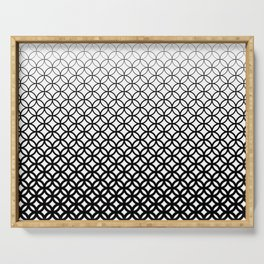 Halftone I Serving Tray
