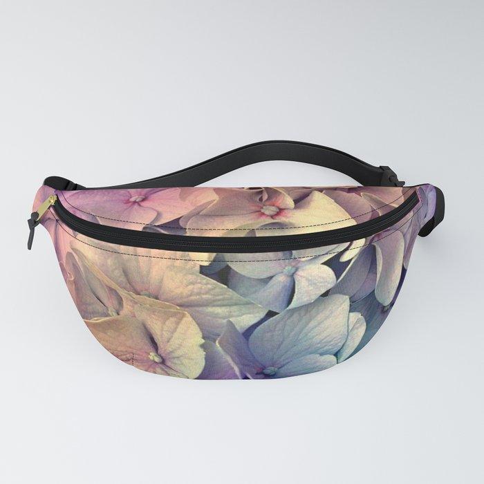 Soft Multi Color Hydrangea Fanny Pack