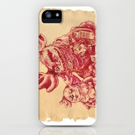 """""""Ugly Family"""" iPhone Case"""