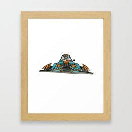 E21 Framed Art Print