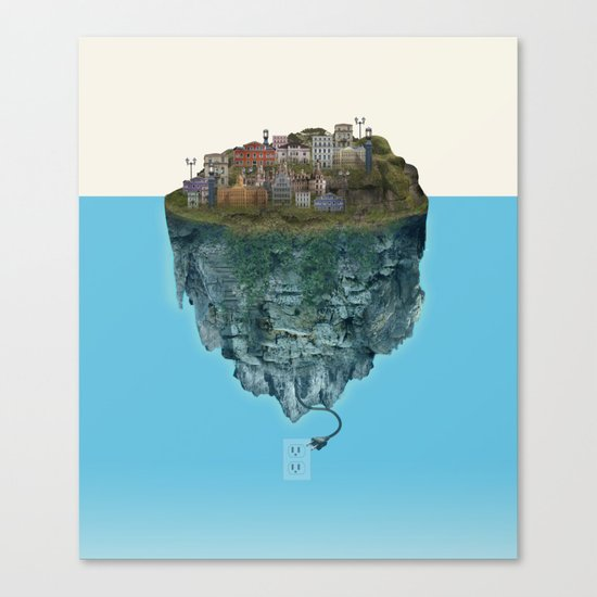 Island Lights Canvas Print