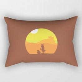 Star, BB8, Wars... Force Rectangular Pillow