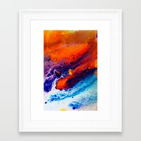 return Framed Art Prints featuring Return by Kimsey Price