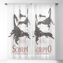 Scorpio Sheer Curtain