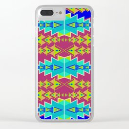 Indian Designs 240 Clear iPhone Case