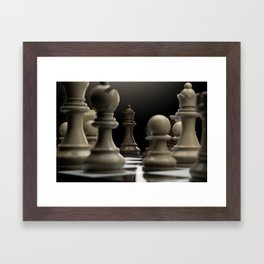 I Dare You To Move Framed Art Print