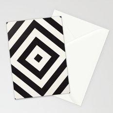 echo II - black Stationery Cards