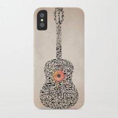 Guitar Notes Slim Case iPhone X