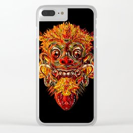 Barong Bali Clear iPhone Case