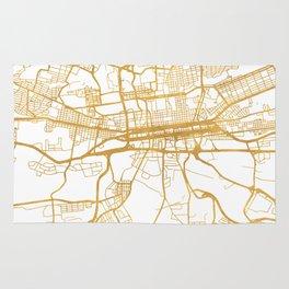 JOHANNESBURG SOUTH AFRICA CITY STREET MAP ART Rug