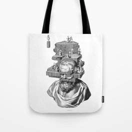 The solitude of wise Philosophers. Tote Bag