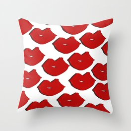 Smooches Throw Pillow