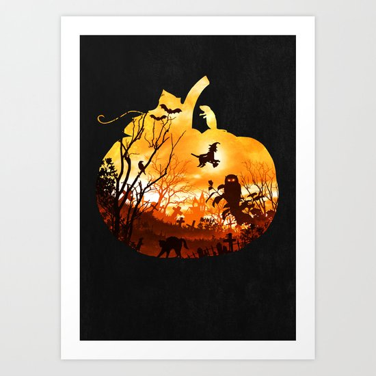 All Hallows Eve Art Print