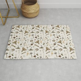 Northern forest (white) Rug