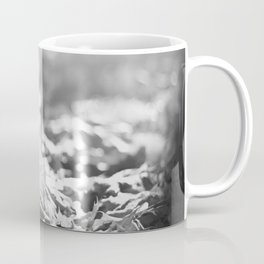 Autumn Leafs (Black and White) Coffee Mug