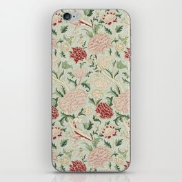 William Morris Cray Floral Pre-Raphaelite Vintage Art Nouveau Pattern iPhone Skin