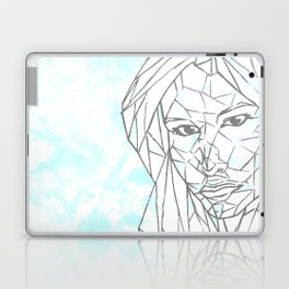 Diamant Bleu Laptop & iPad Skin